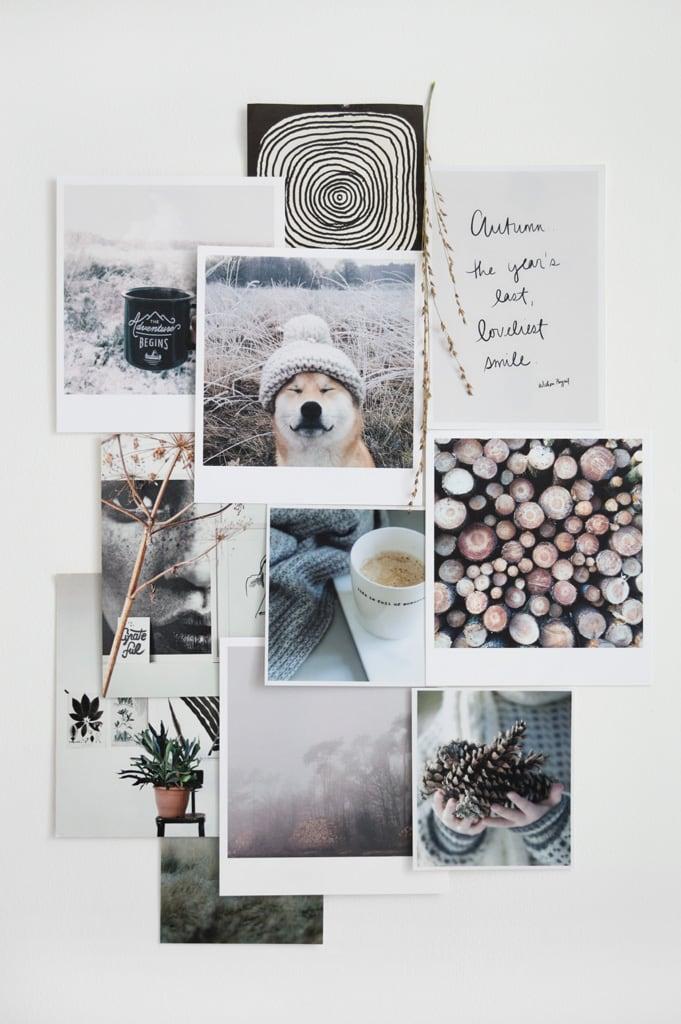 Collage vakkenwand werkkamer Tanja van Hoogdalem