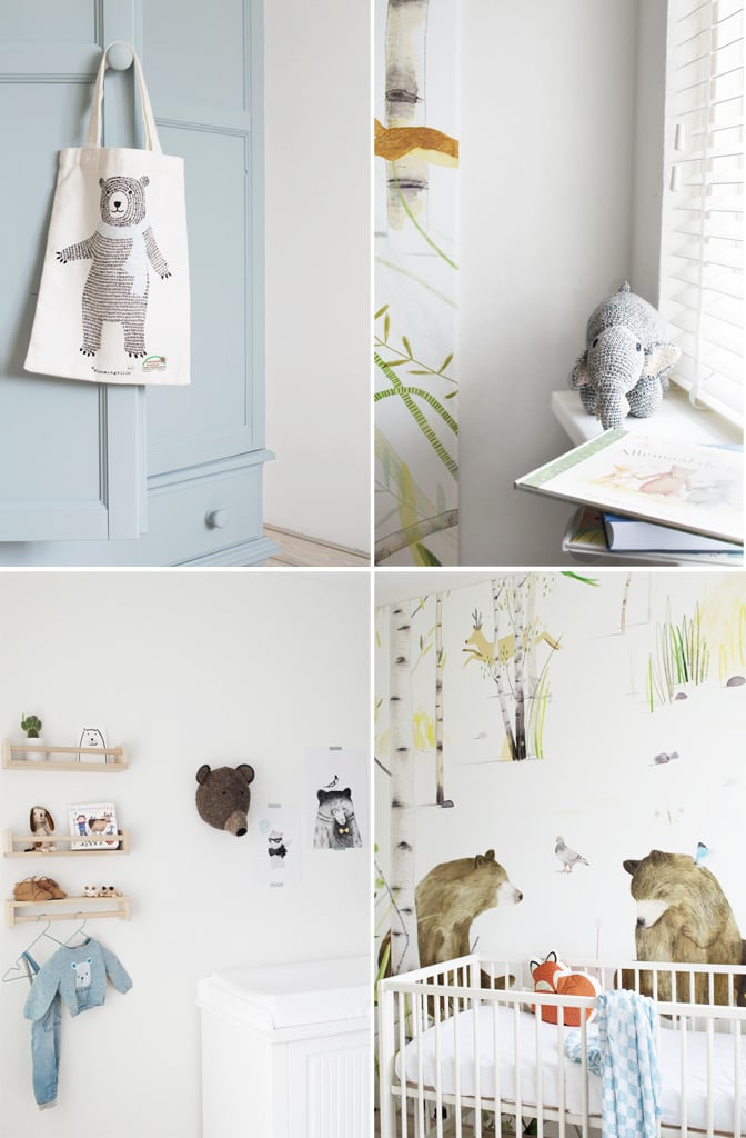 Babykamer styling beren - Tanja van Hoogdalem