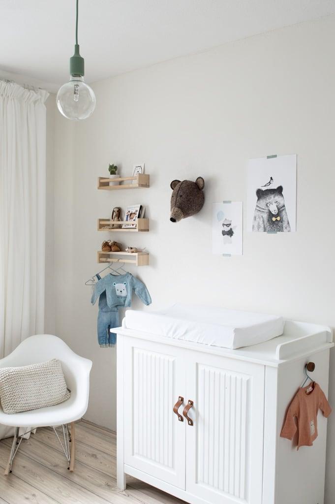 Babykamer Ikea kruidenrekjes - Tanja van Hoogdalem