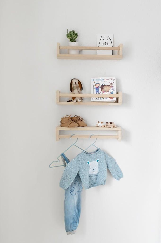 Ikea kruidenrekjes babykamer - Tanja van Hoogdalem