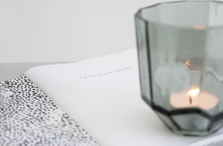 Styling crisp sheets notebook - door Tanja van Hoogdalem