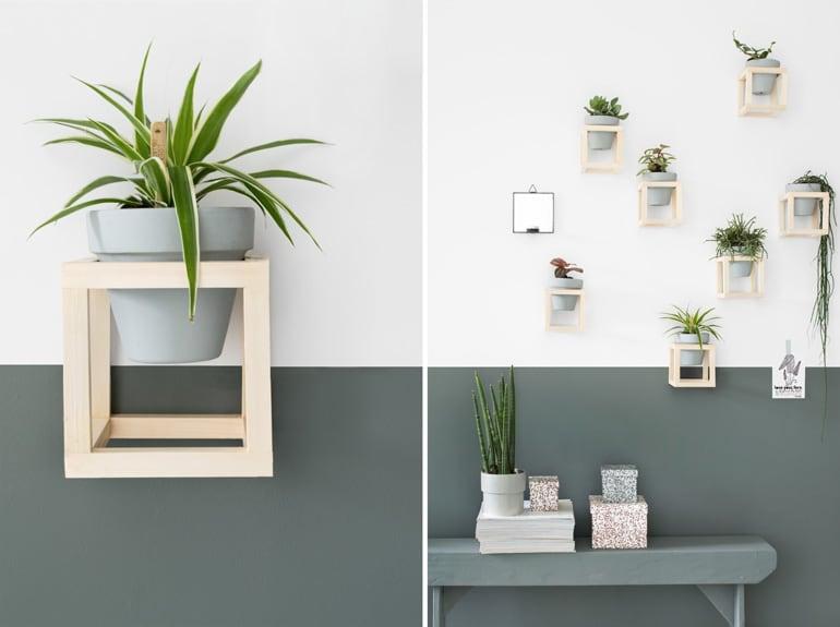 DIY plantenhouder