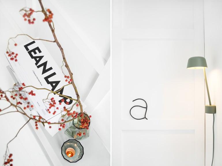 Wandlamp design Muuto  - door Tanja van Hoogdalem