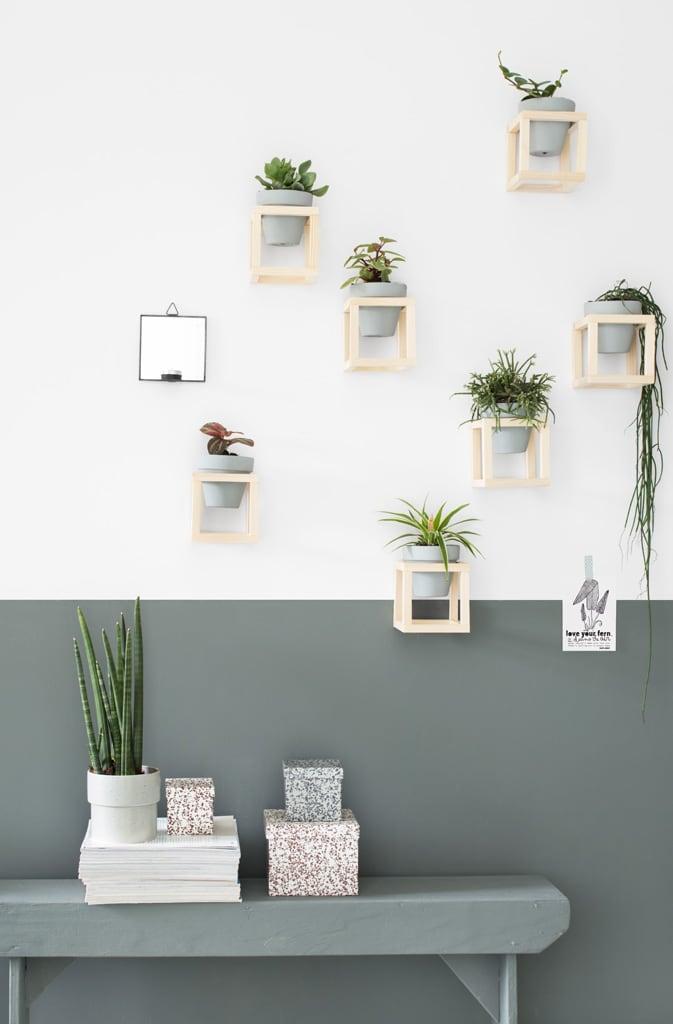 DIY plantenhouder door Tanja van Hoogdalem