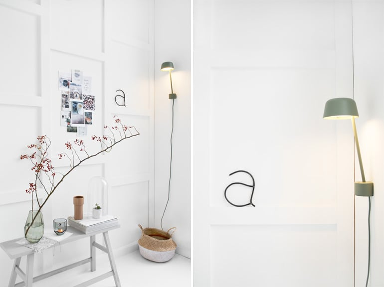 design wandlamp lean mute