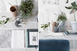 DIY bureau tegelen - Tanja van Hoogdalem