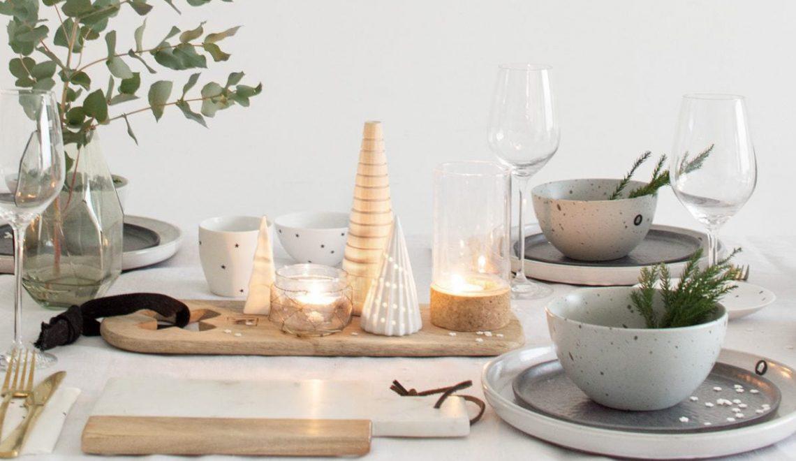 Een feestelijke kersttafel