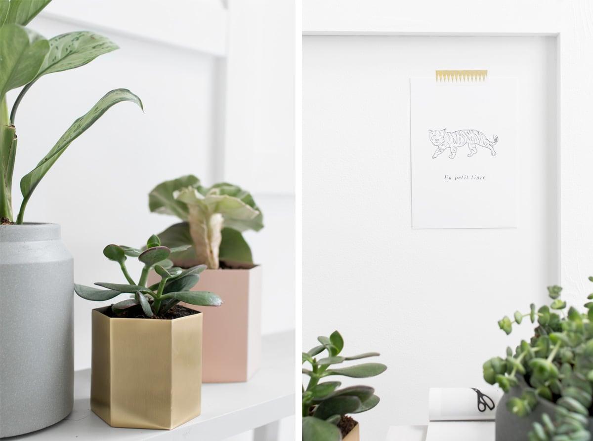 Ferm Living plantenpotten - Tanja van Hoogdalem