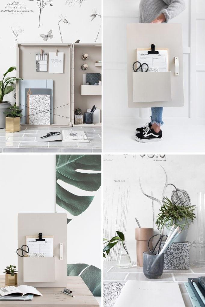 DIY opbergkastje vtwonen - Tanja van Hoogdalem