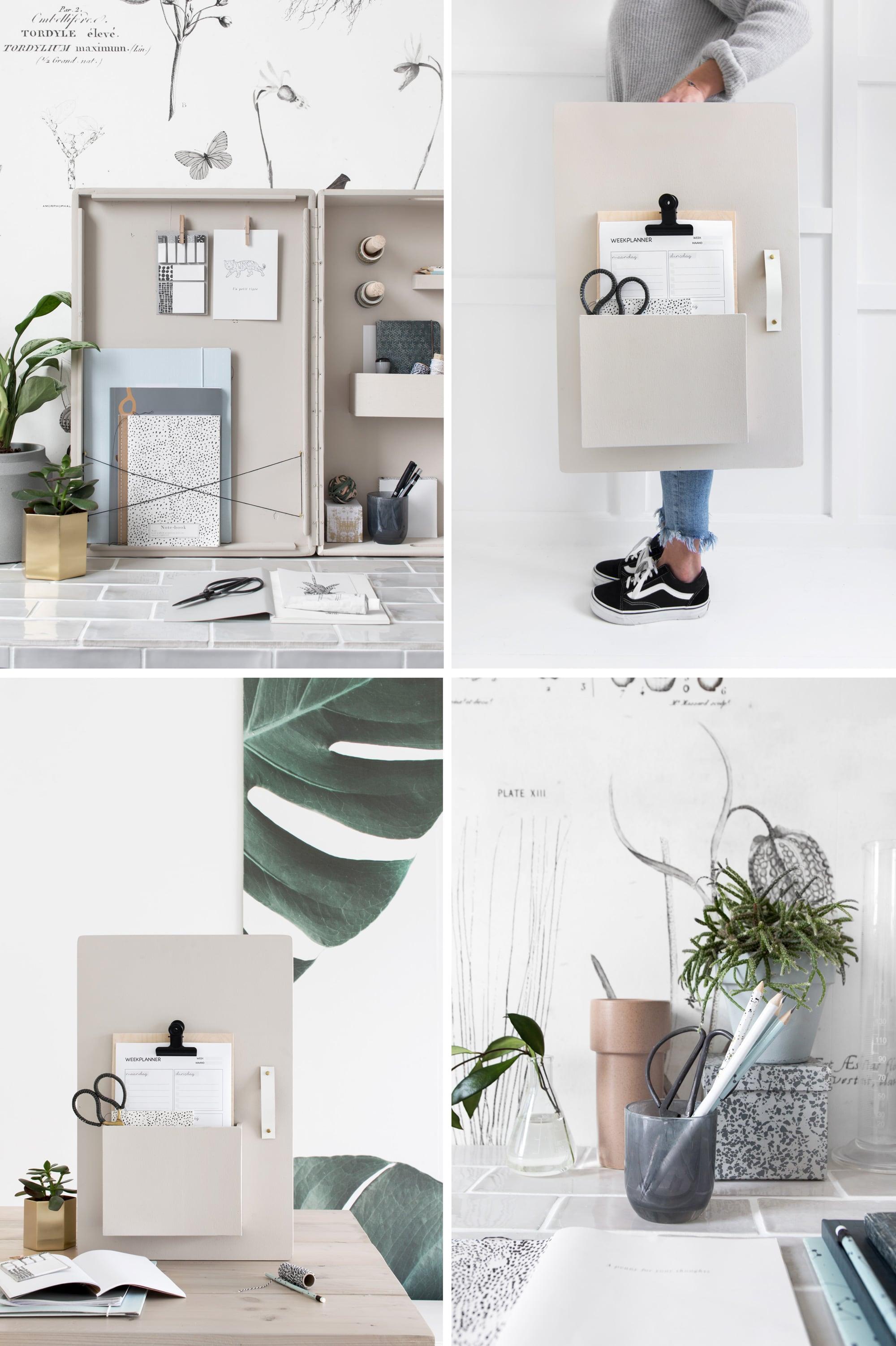 DIY opbergkastje vtwonen - door Tanja van Hoogdalem