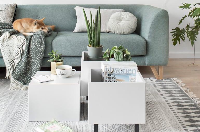 IKEA hack: van wandkast naar salontafel