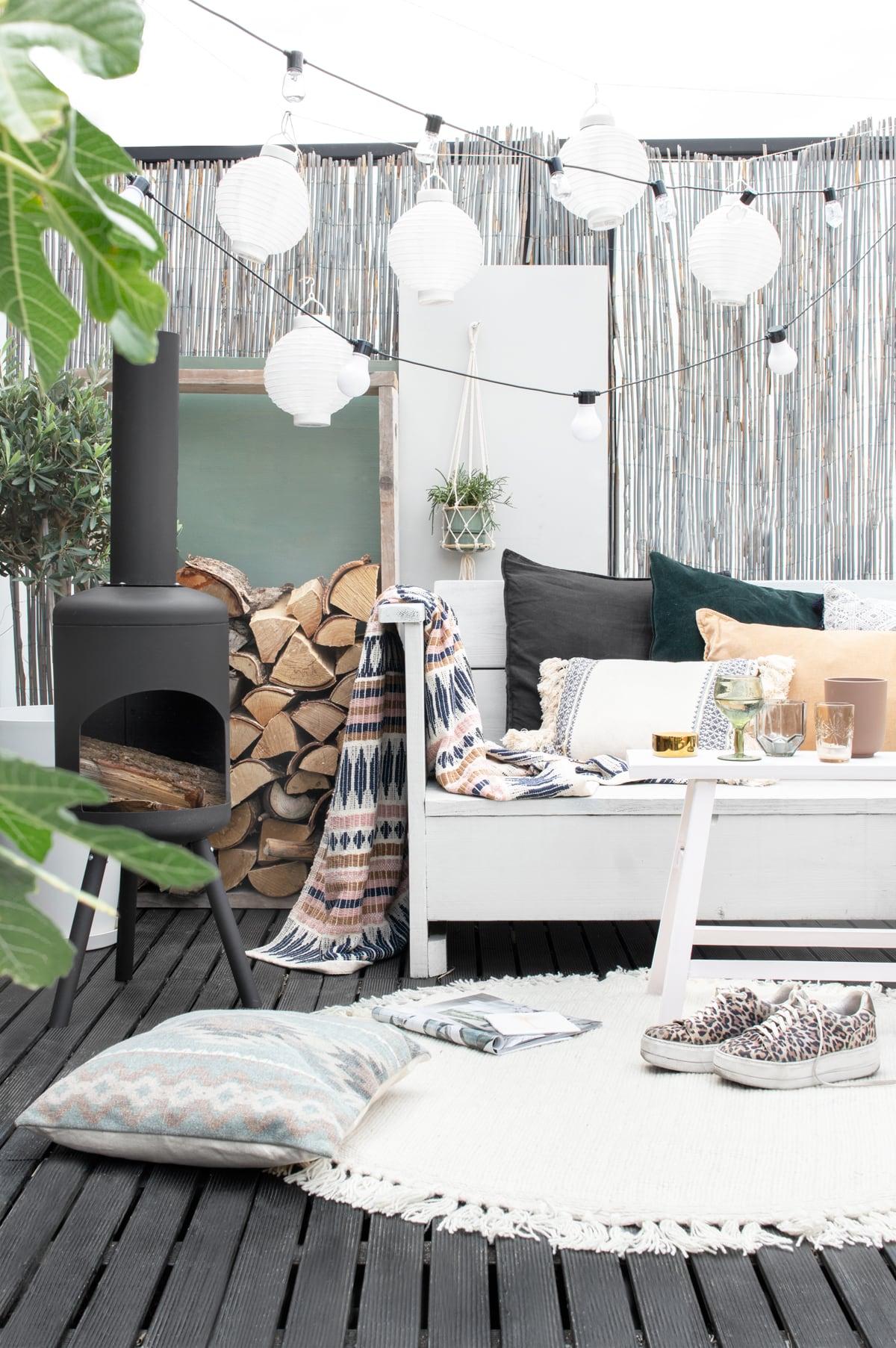 Dakterras styling terraskachel - Tanja van Hoogdalem
