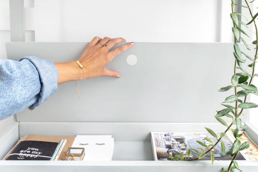 IKEA hack van sniglar commode naar sidetable - Tanja van Hoogdalem