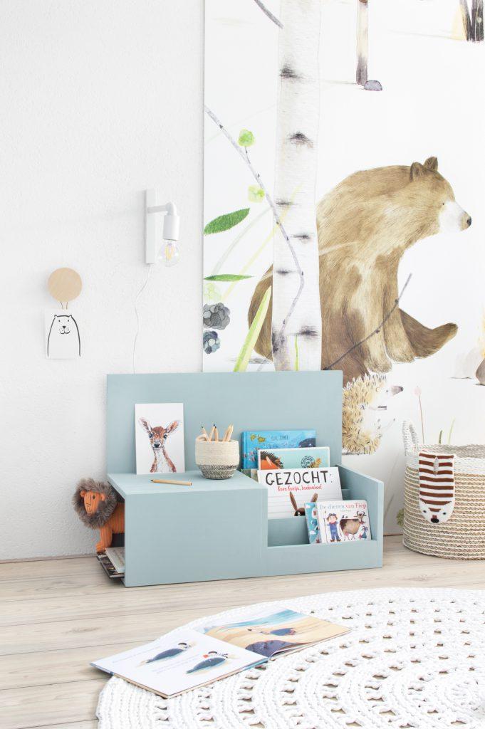 Leesboeken kinderkamer: DIY leesbankje - Tanja van Hoogdalem