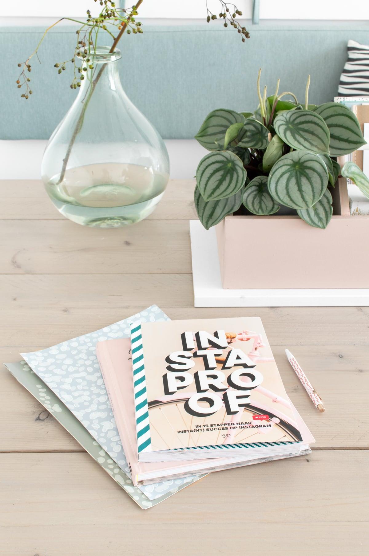 INSTAPROOF boek styling eethoek - Tanja van Hoogdalem