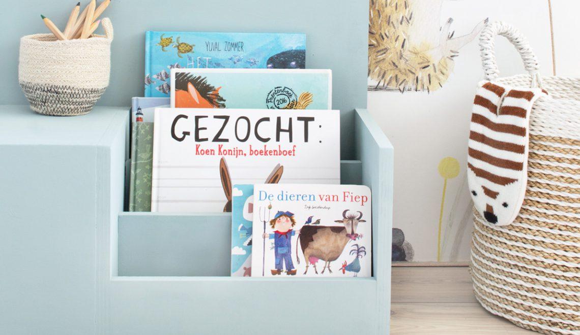 DIY: leesbankje met opbergruimte voor de kinderkamer
