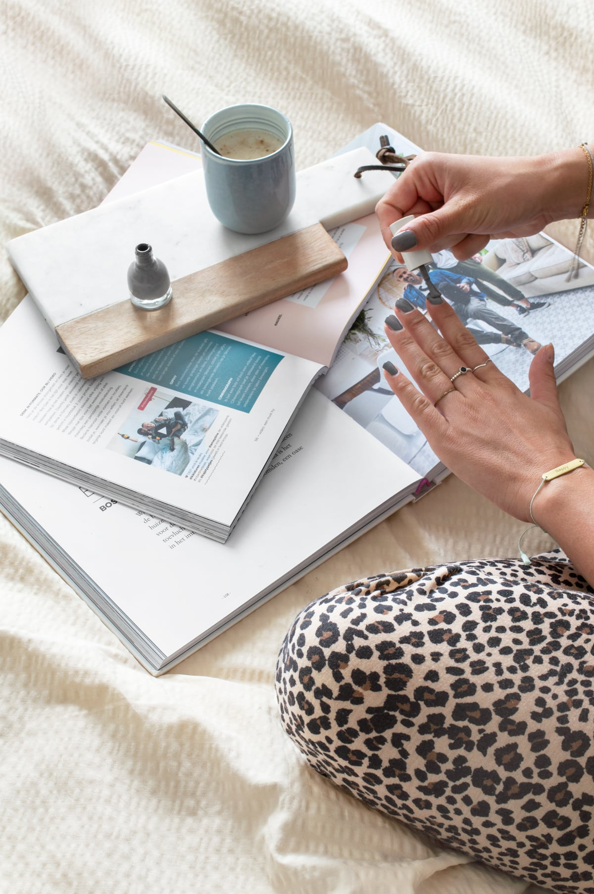 Styling beddengoed crisp sheets - Tanja van Hoogdalem