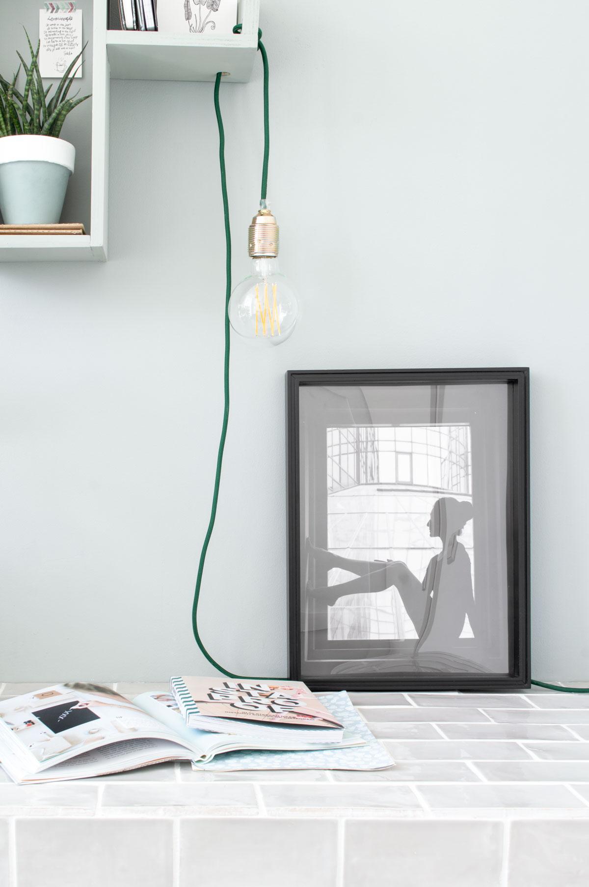 Styling werkplek verlichting - Tanja van Hoogdalem