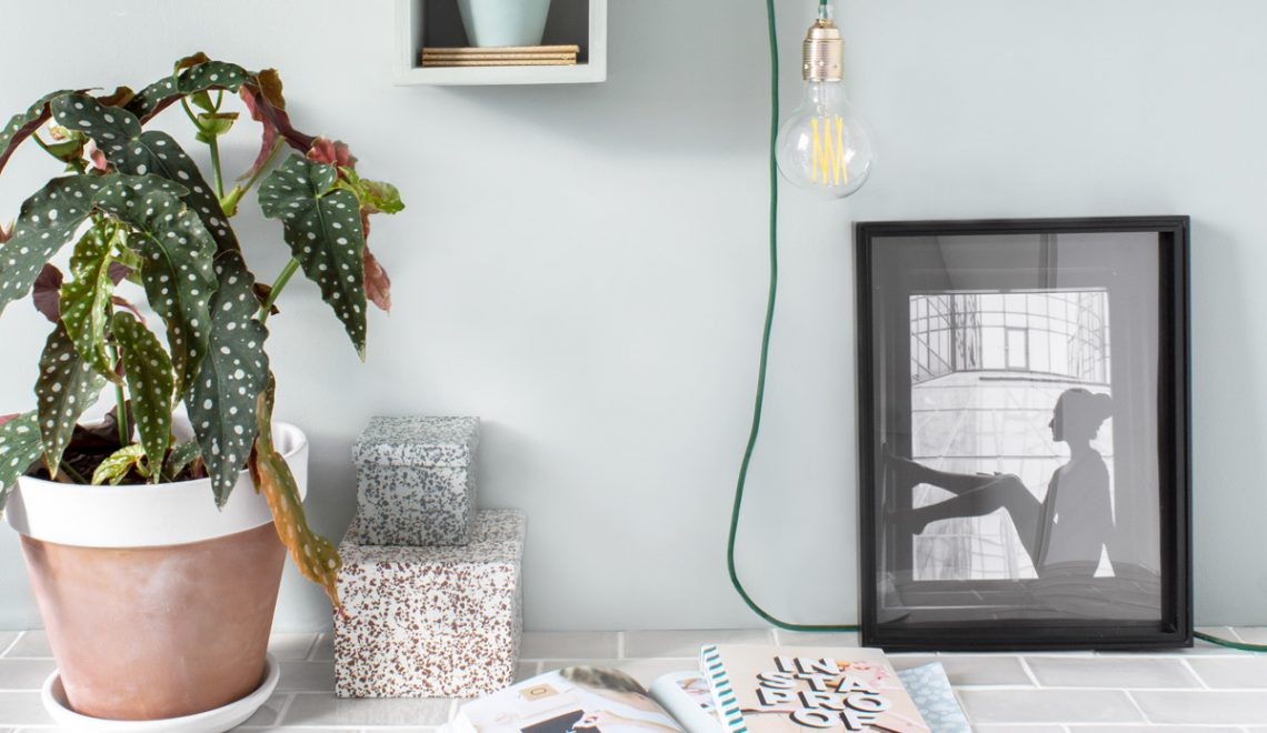 Wandkastje verlichting - Tanja van Hoogdalem