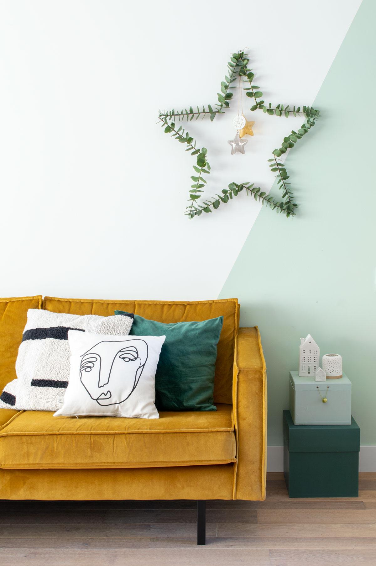 DIY kerstster Dille en Kamille - Tanja van Hoogdalem
