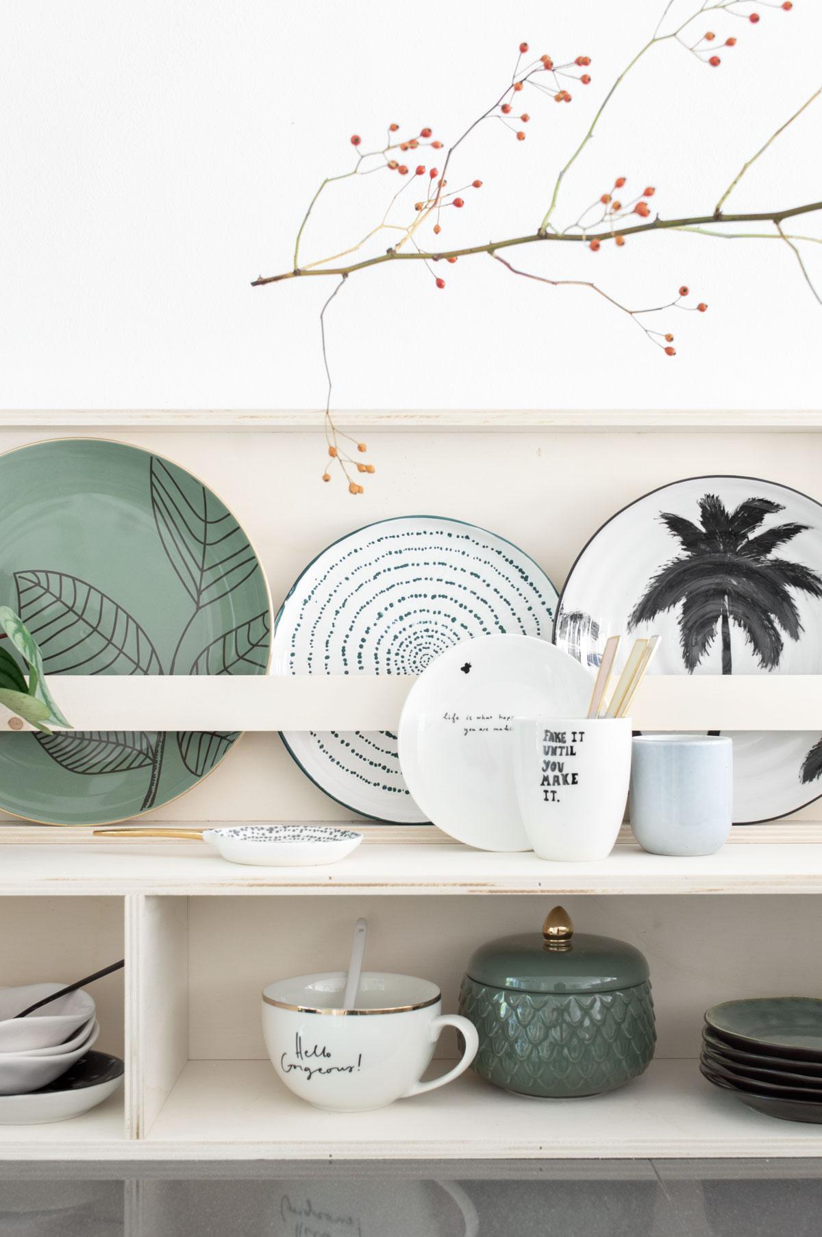 DIY bordenrek - Tanja van Hoogdalem