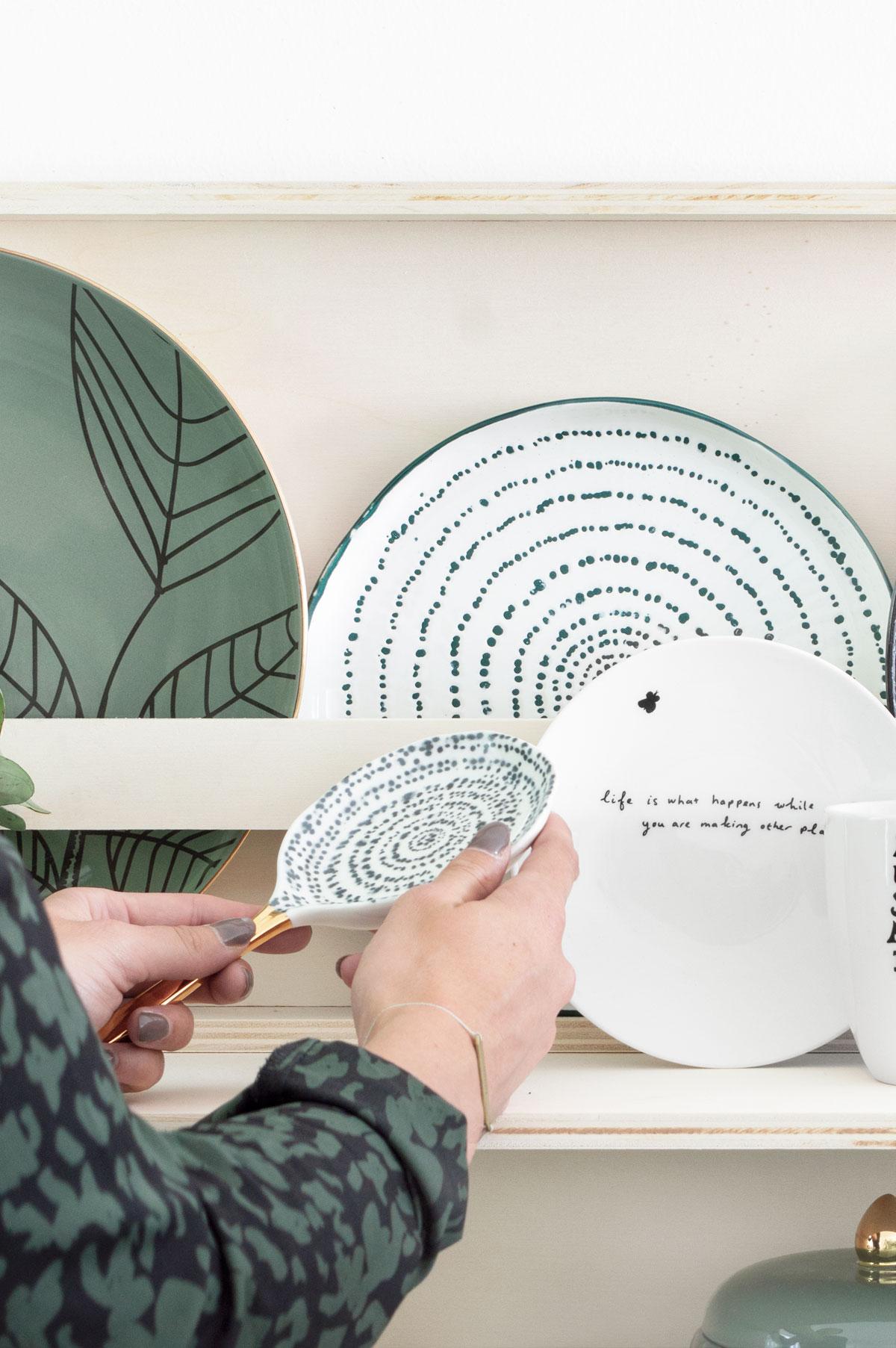 DIY serviesrek keuken - Tanja van Hoogdalem