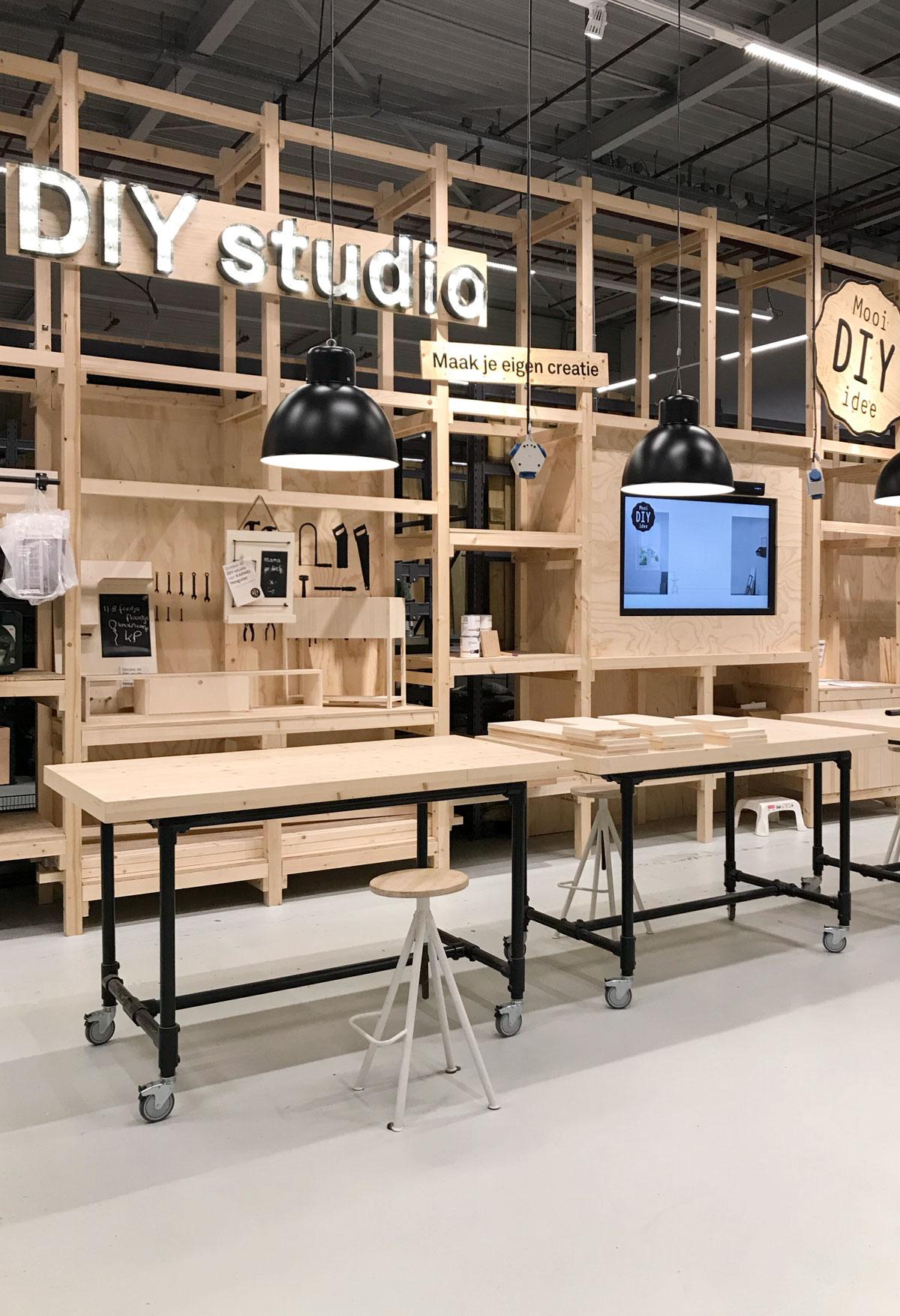 KARWEI Hoogvliet DIY studio - Tanja van Hoogdalem