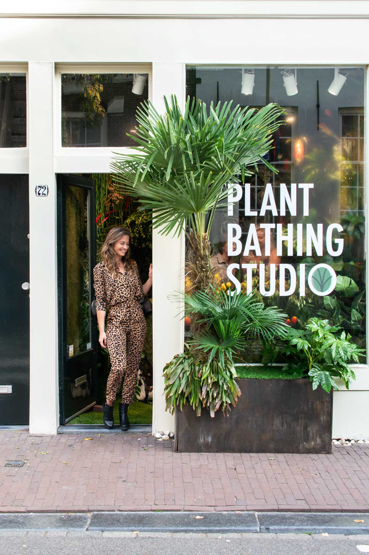 Plant Bathing Studio Amsterdam - Tanja van Hoogdalem