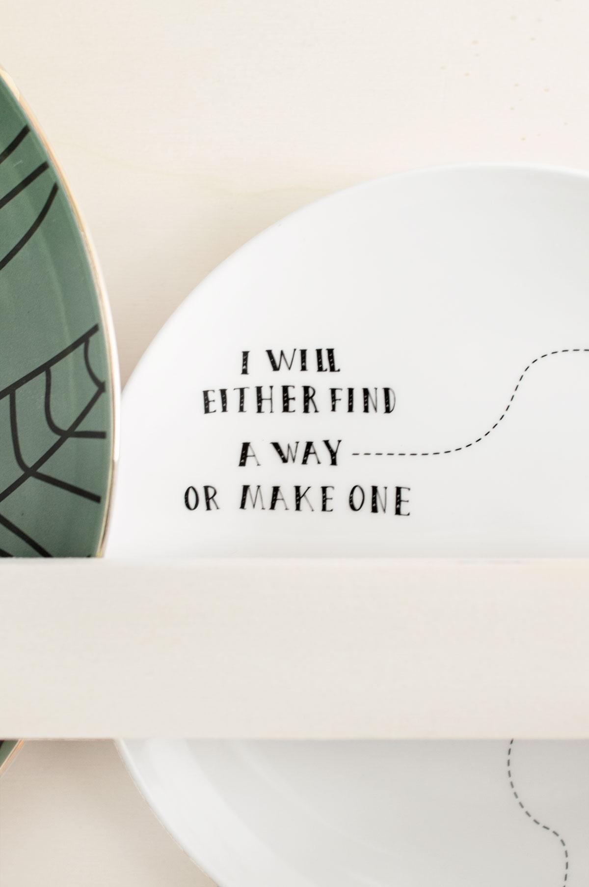 DIY bordenrek keuken - Tanja van Hoogdalem