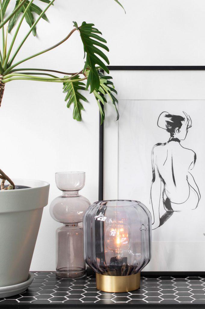 Wandmeubel tafellamp - Tanja van Hoogdalem
