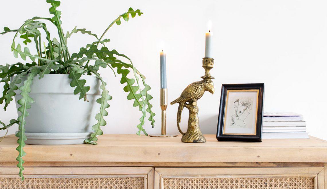 Een nieuwe kast in huis: opbergen en stylen