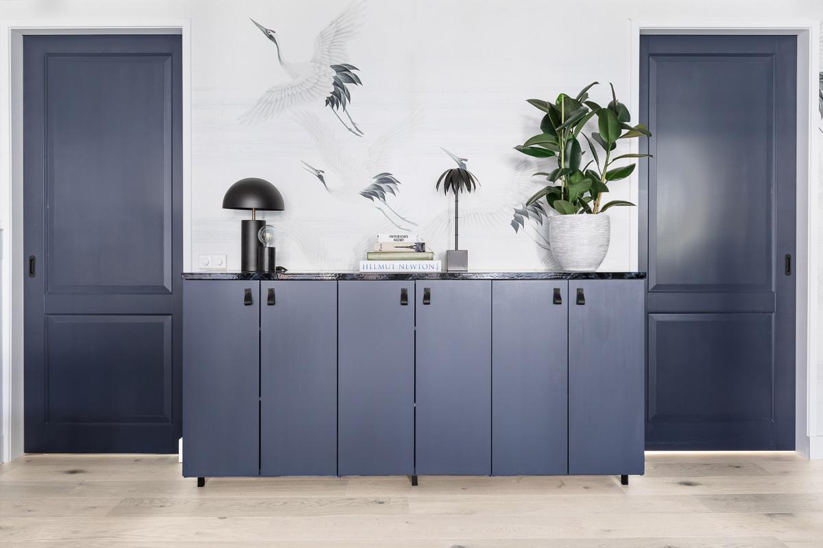 DIY dressoir met marmeren bovenblad- Tanja van Hoogdalem
