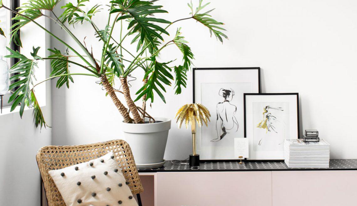 Haal de zomer in huis met een palmboom lamp
