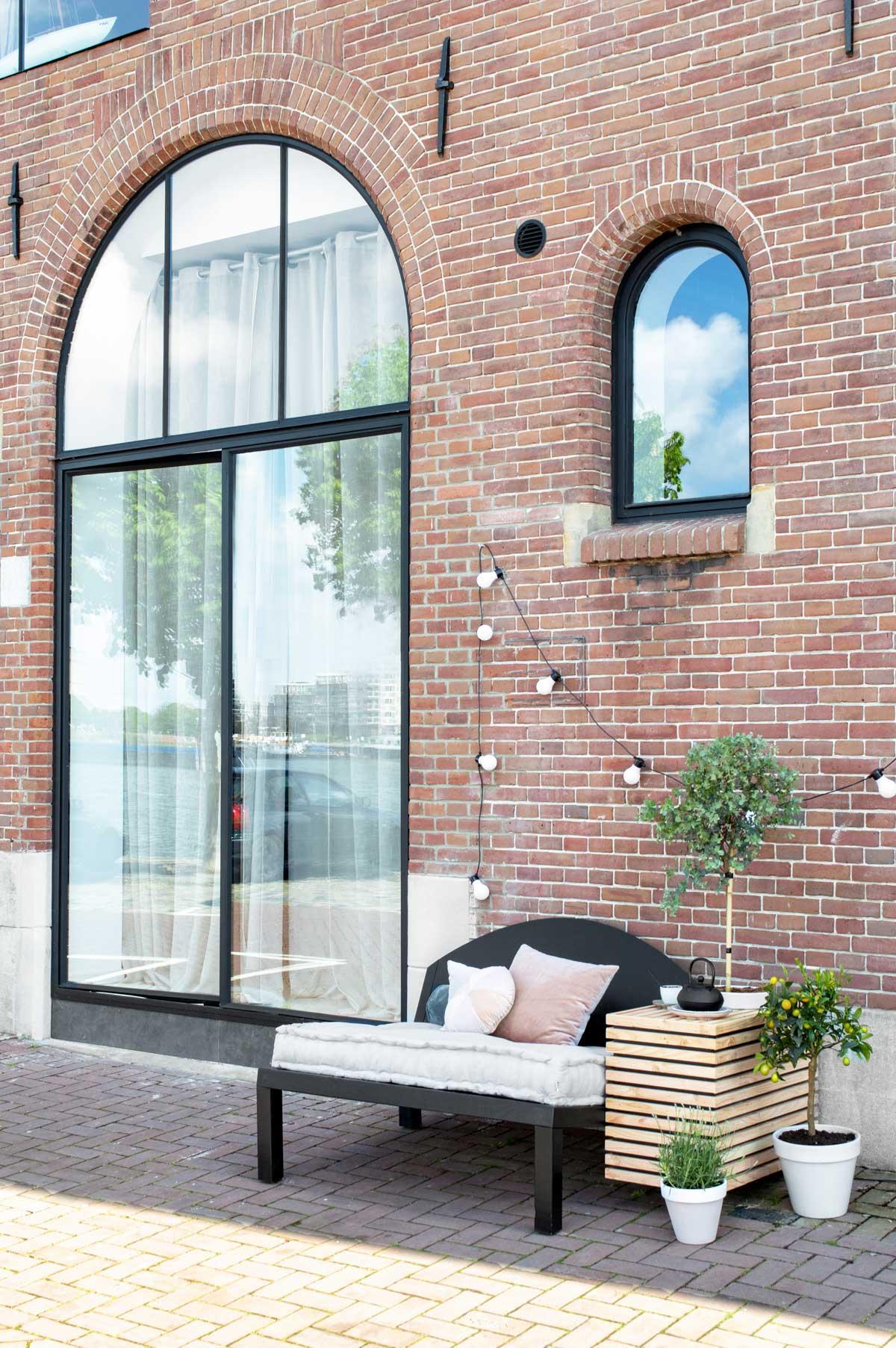 DIY tuinbank voor buiten - Tanja van Hoogdalem