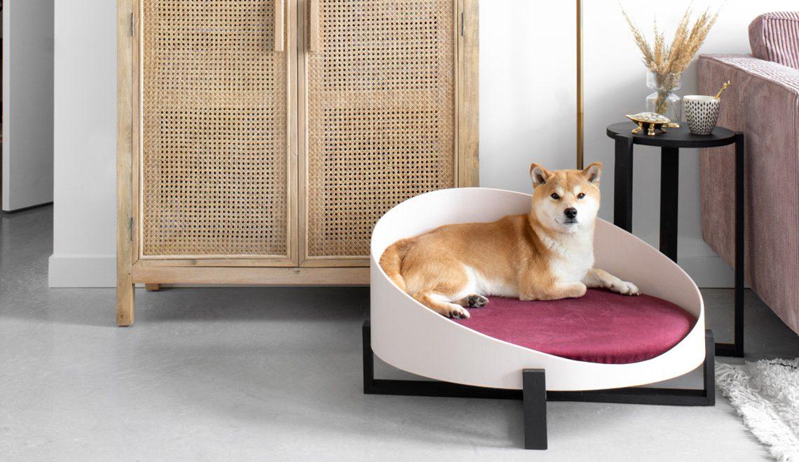 DIY hondenmand met velvet touch