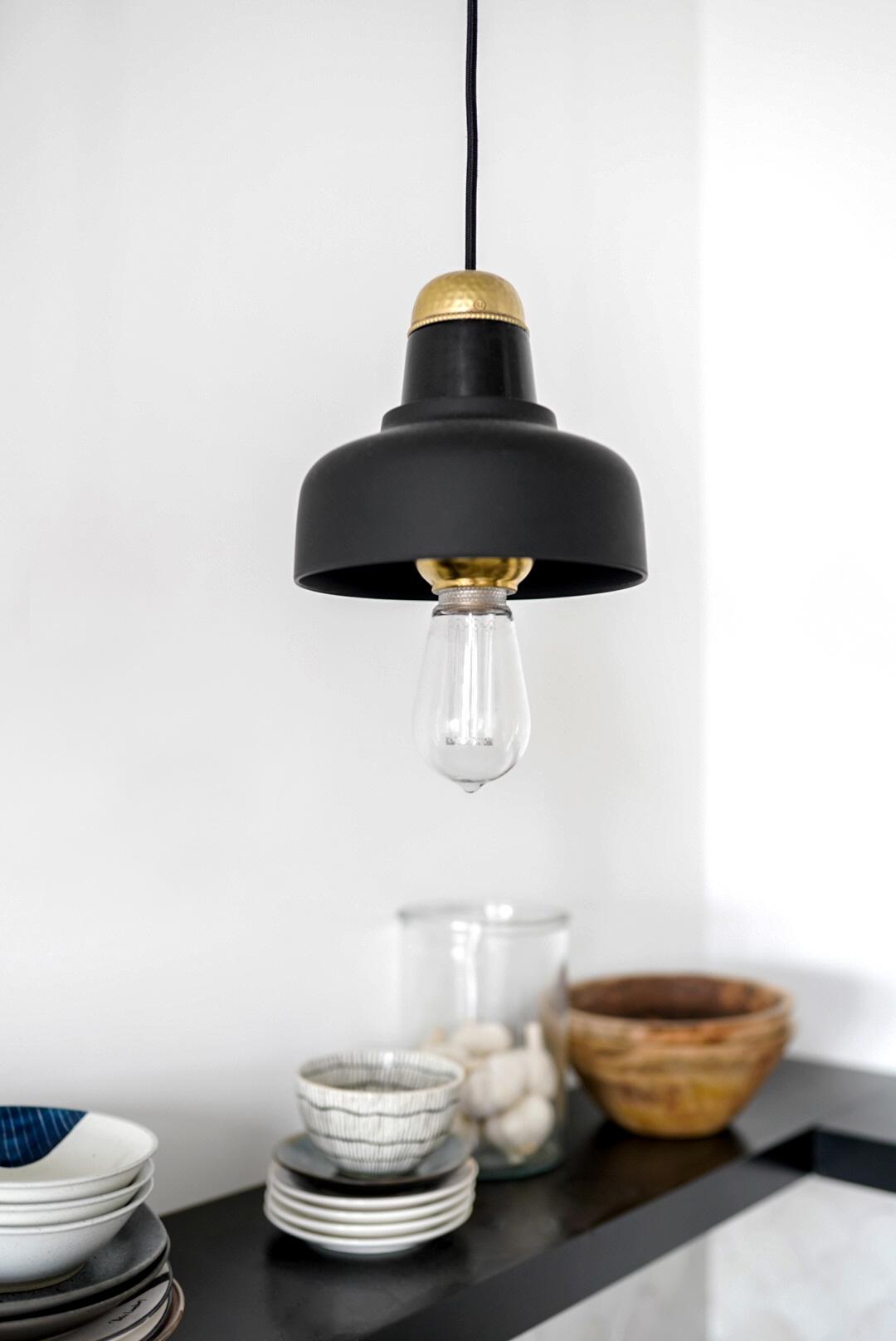 lampen DIY keuken - Tanja van Hoogdalem