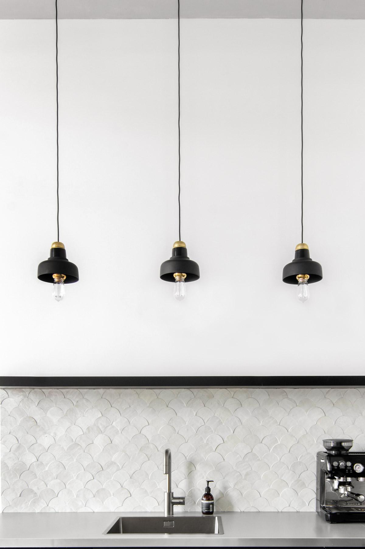 DIY lampen in keuken - Tanja van Hoogdalem