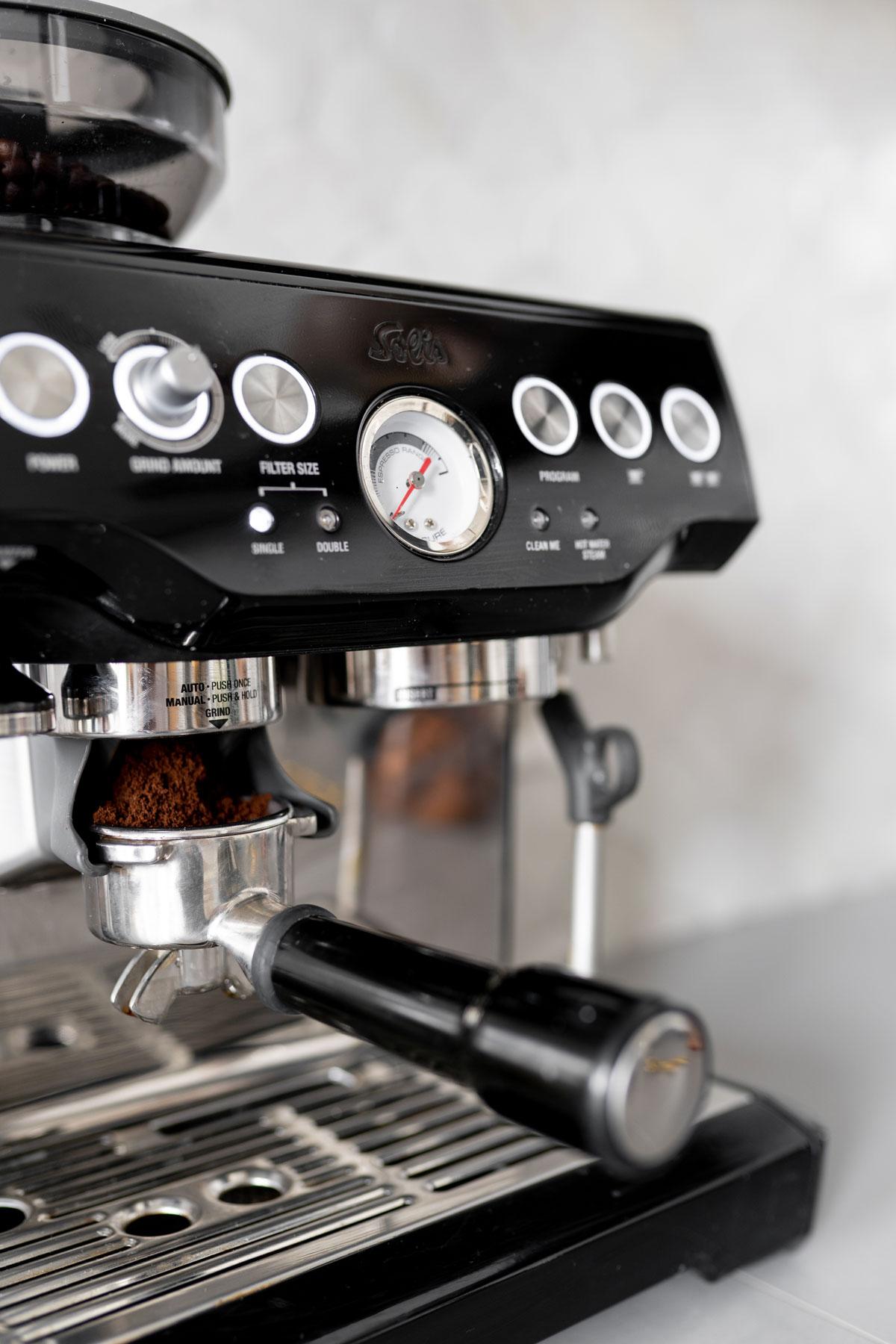 SOLIS Pro 115 Halfautomatische Espressomachine - Tanja van Hoogdalem