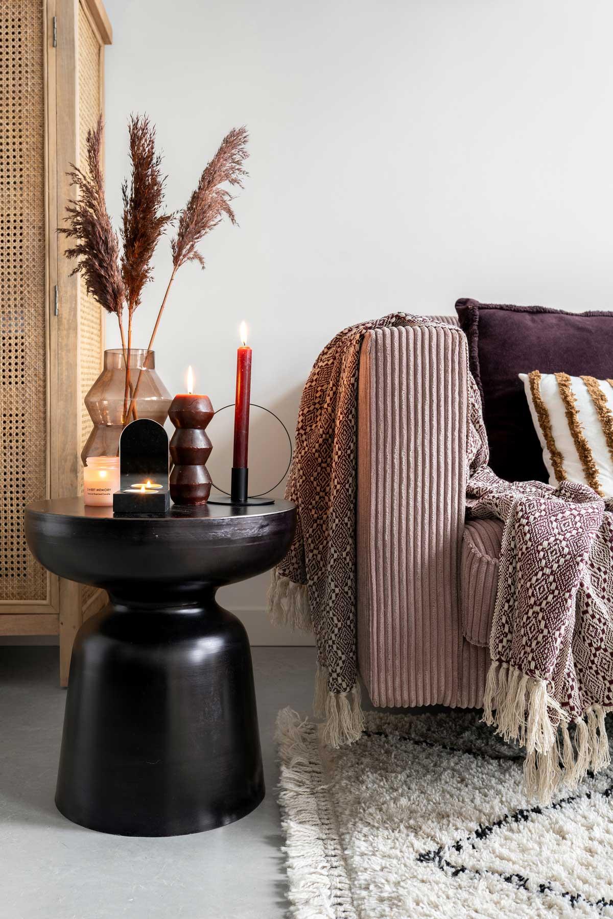 Herfst in huis warme tinten - Tanja van Hoogdalem