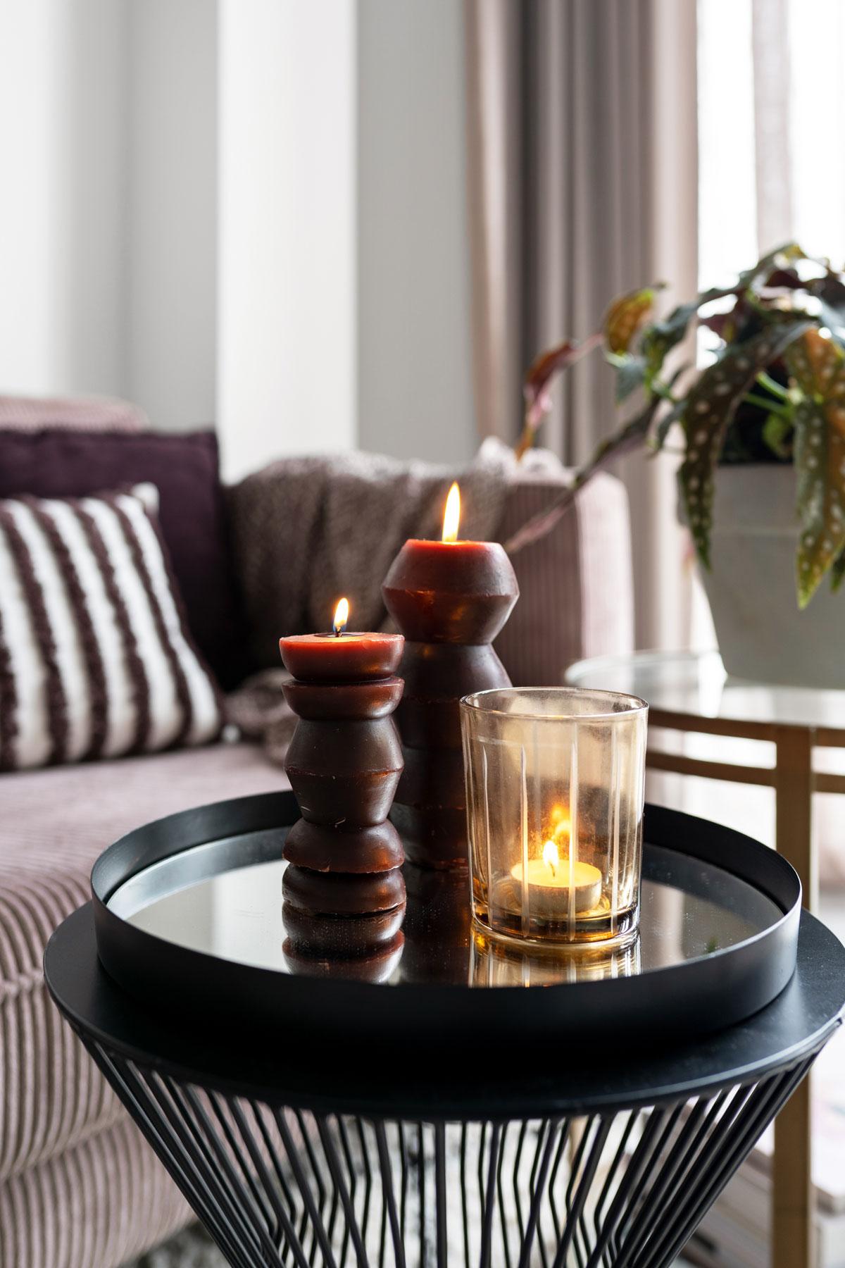 Herfst in huis kaarsen - Tanja van Hoogdalem