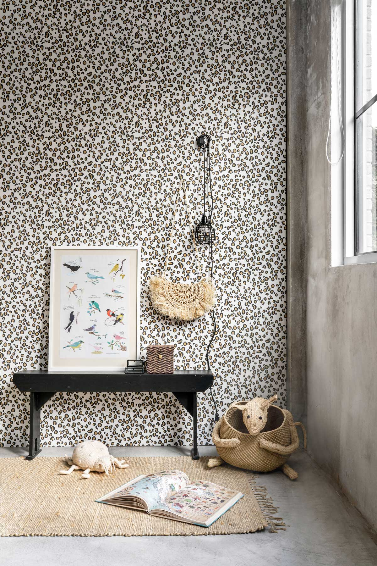 Studio Claas behang - Tanja van Hoogdalem