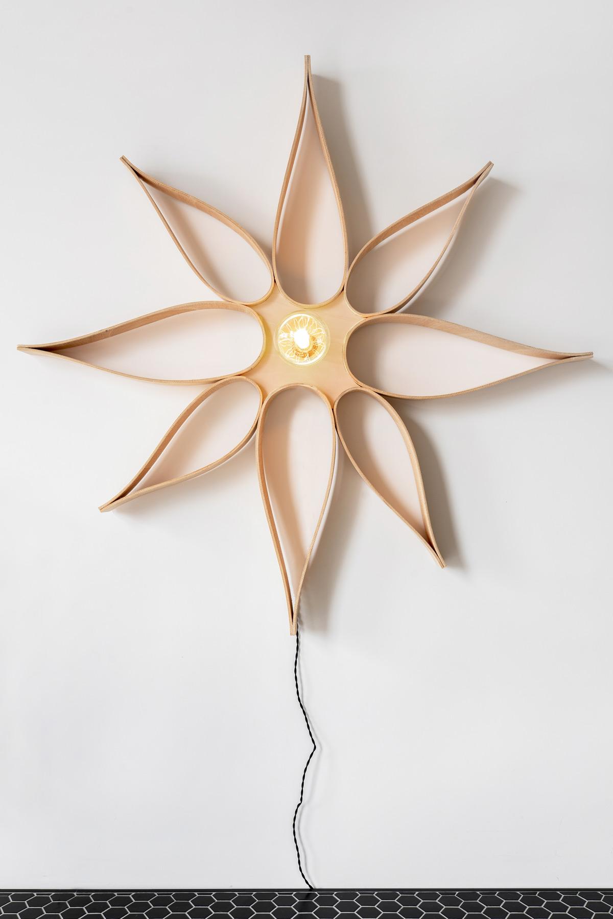 DIY houten ster - Tanja van Hoogdalem