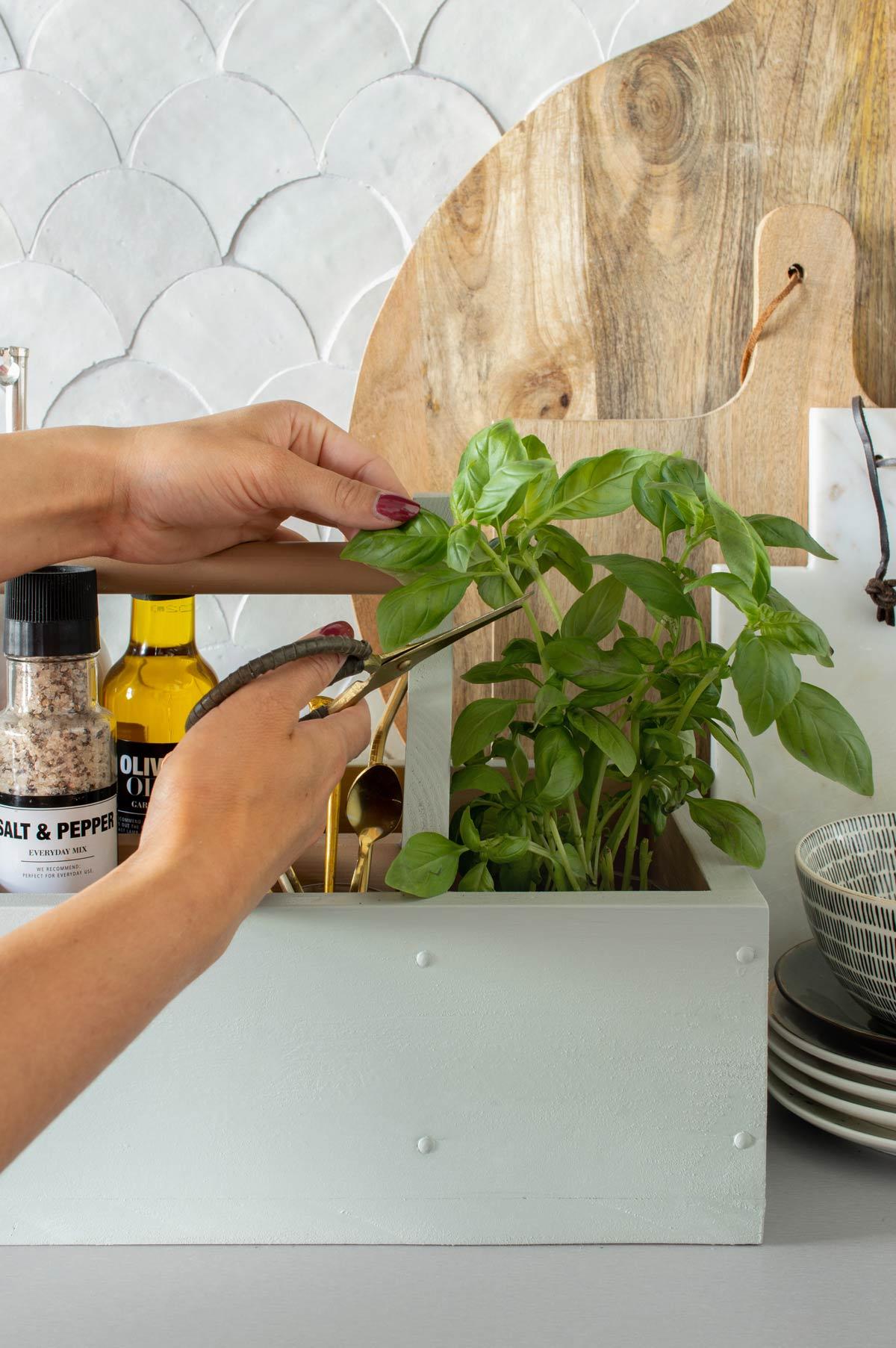 opbergbak keuken DIY -Tanja van Hoogdalem