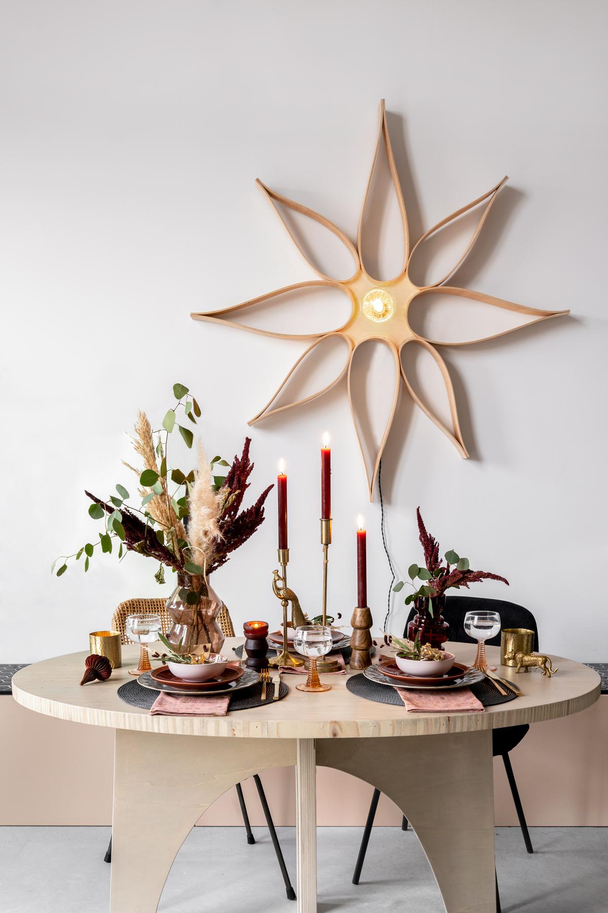 kerst tafelstyling kersttafel- Tanja van Hoogdalem