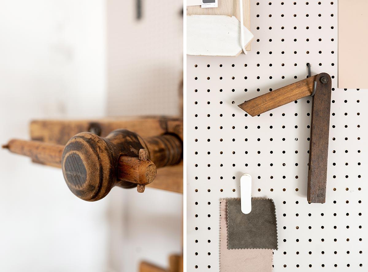 DIY studio details - Tanja van Hoogdalem