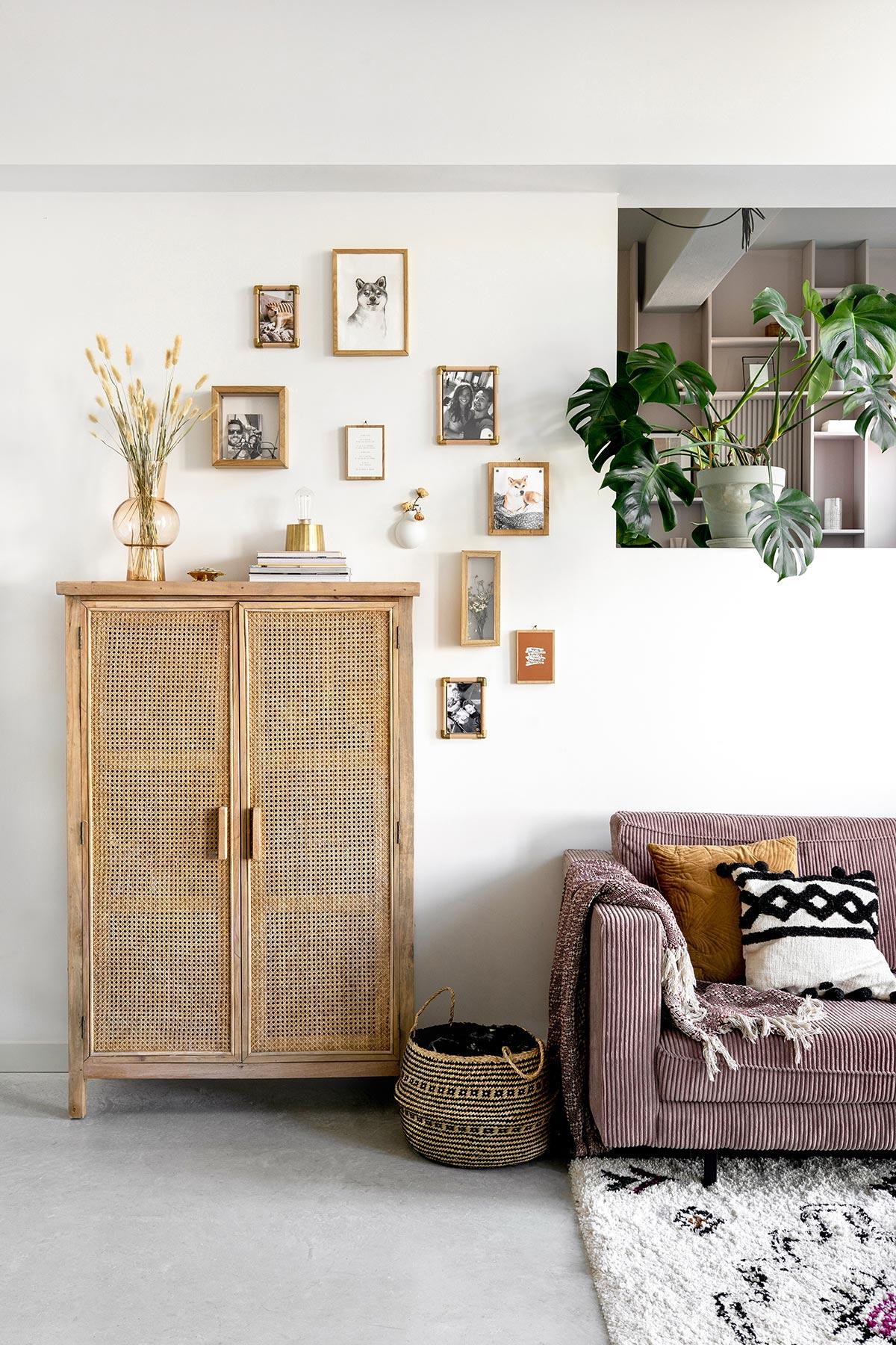 Wanddecoratie persoonlijke fotowand DIY - Tanja van Hoogdalem