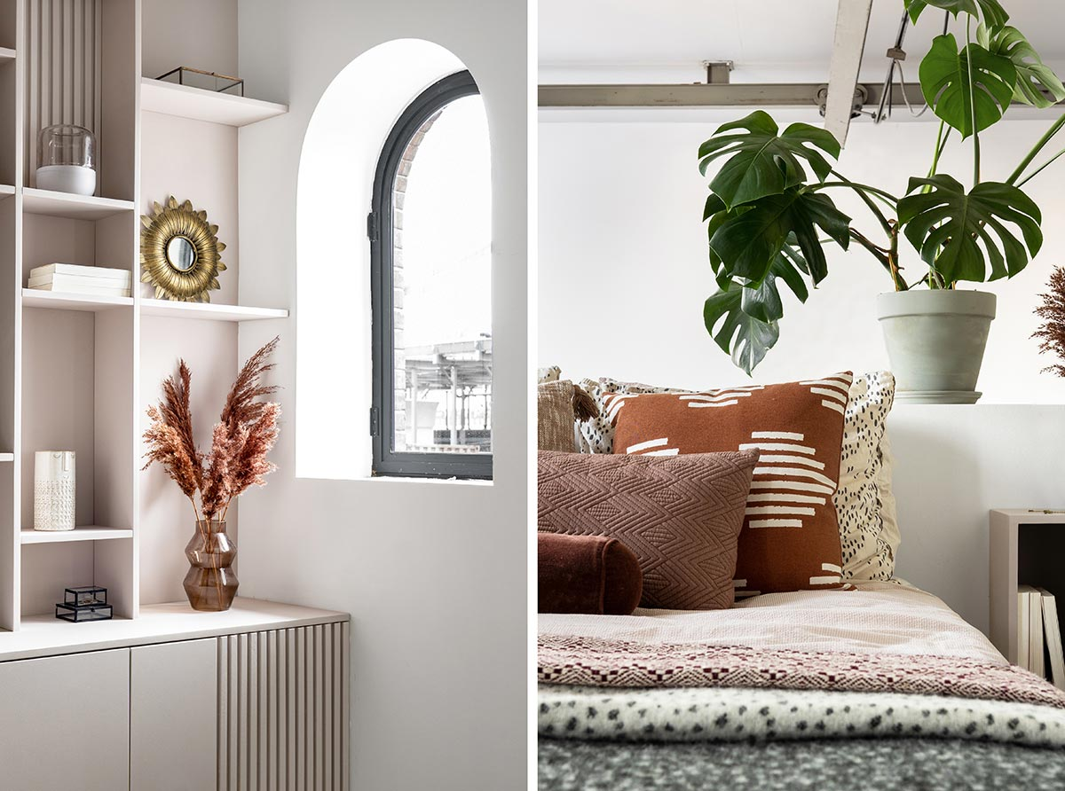 DIY nachtkastje slaapkamer - Tanja van Hoogdalem