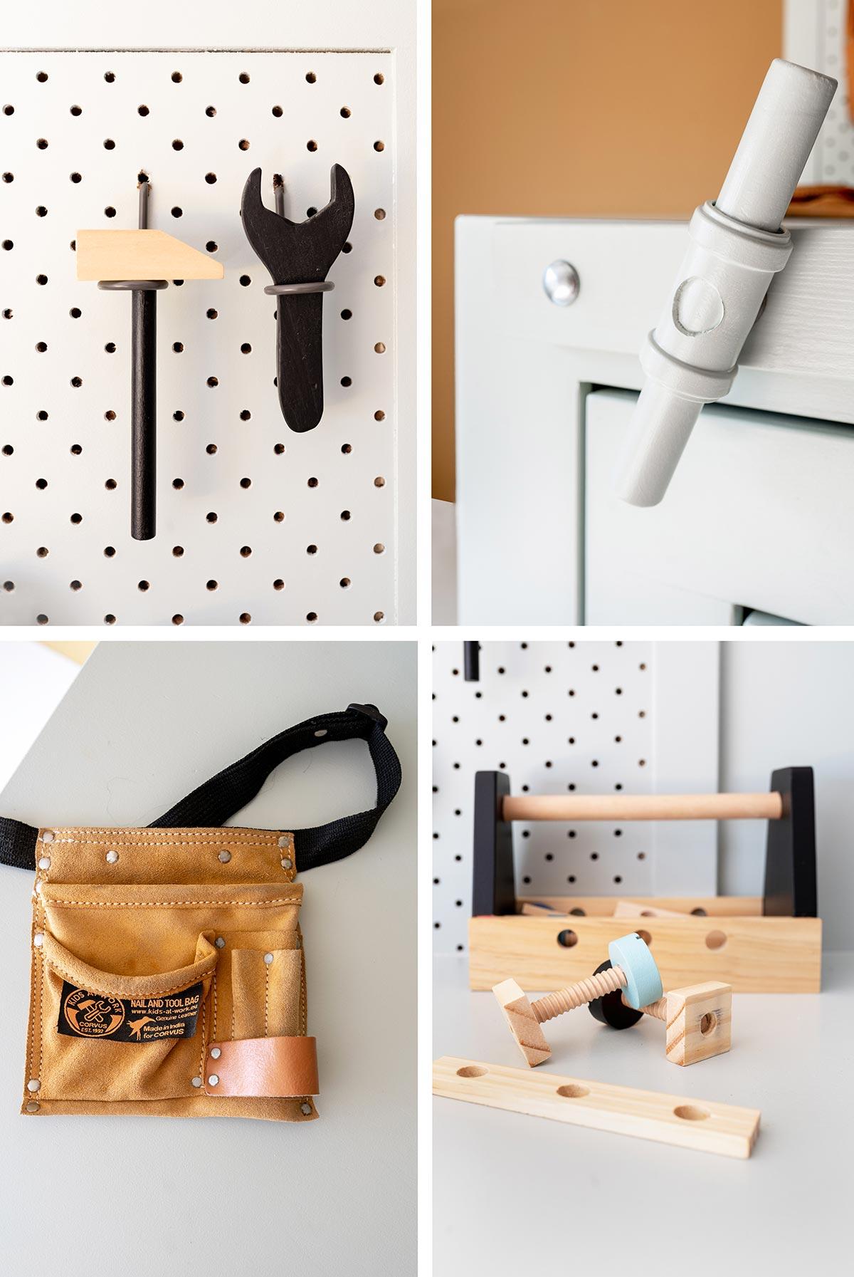 DIY werkbank kids - Tanja van Hoogdalem