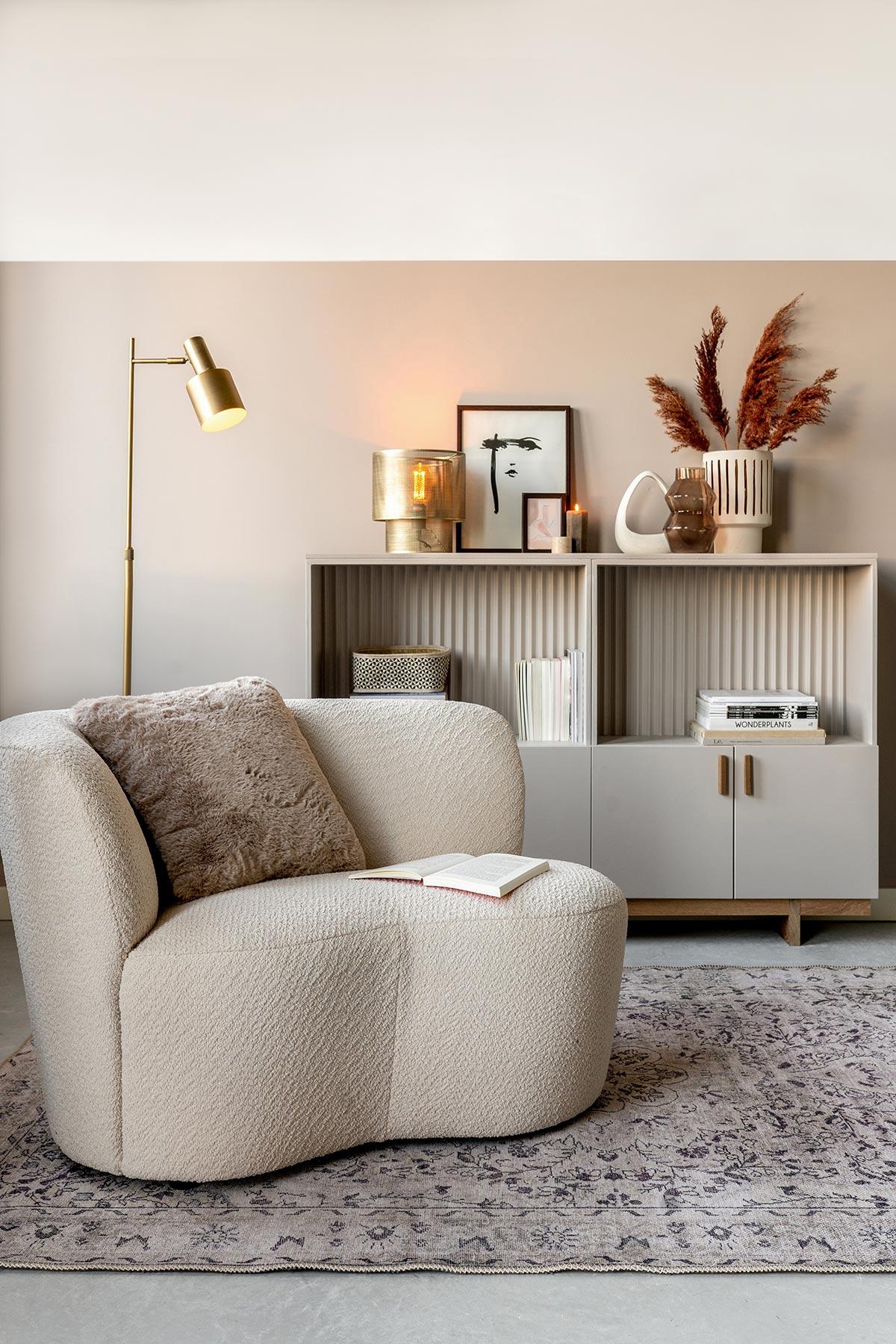Teddy fauteuil stone karwei - Tanja van Hoogdalem