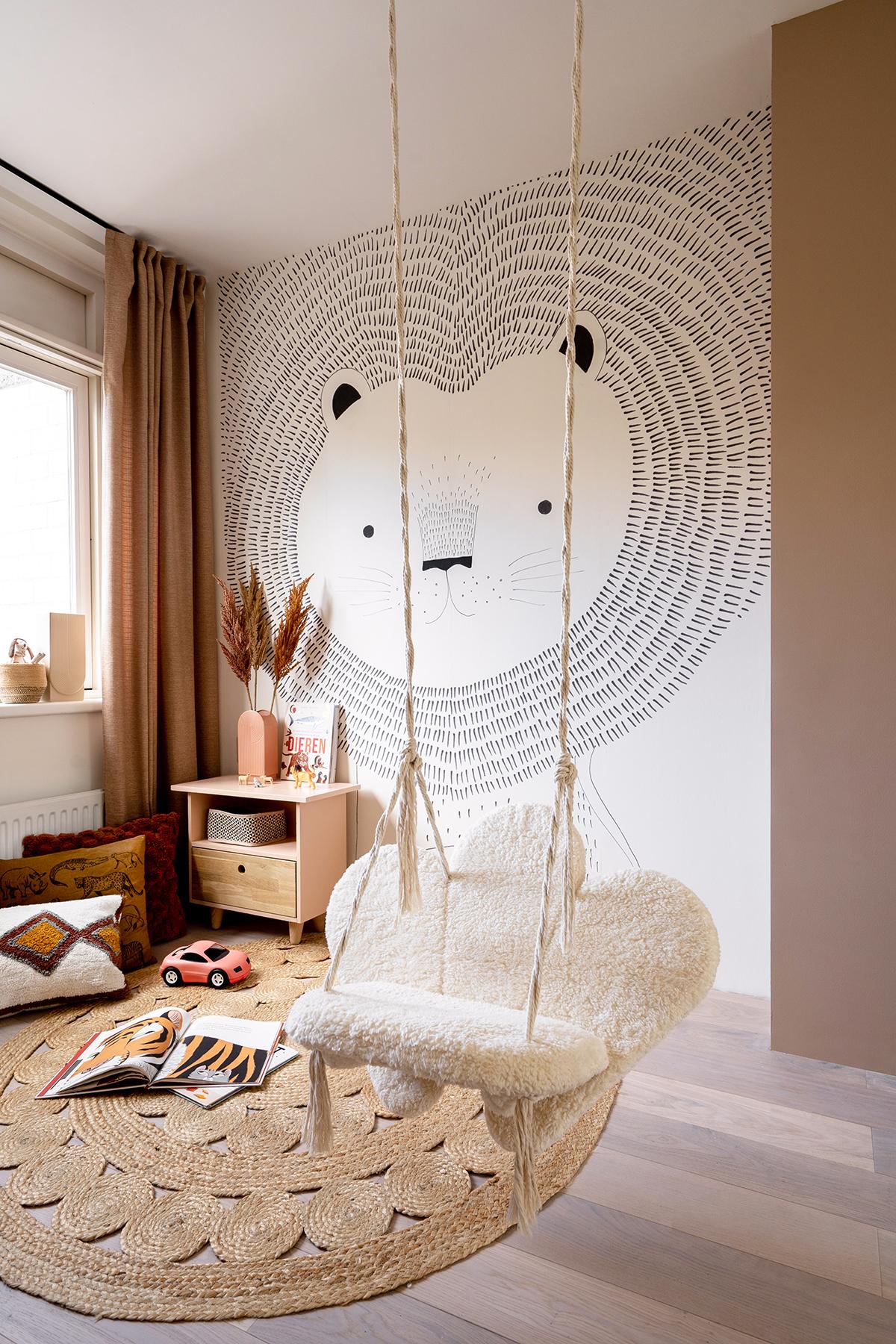 DIY hangstoel kinderkamer - Tanja van Hoogdalem